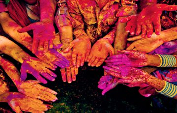 Indien Holi-Festival
