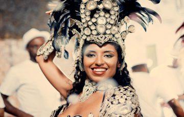 Brasilien Tänzerin