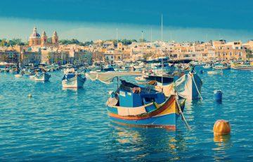 Hafen von Malta