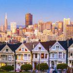 """Die sogenannten """"Painted Ladies"""" von San Francisco werden auch als """"Seven Sisters"""" bezeichnet"""